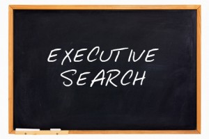 Executive Search blackboard