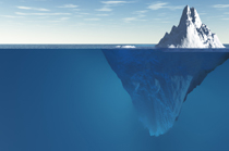 Tip of the iceberg image
