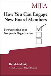 Book cover - How you can engage new board members